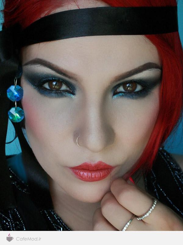 مدل آرایش صورت