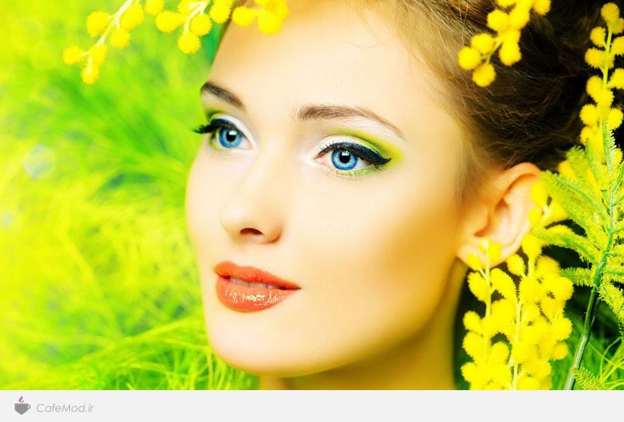 آرایش بهاری چهره