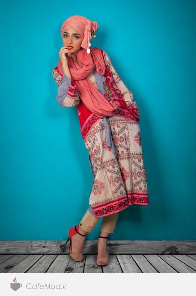 مدل مانتو Naghmeh Kiumarsi