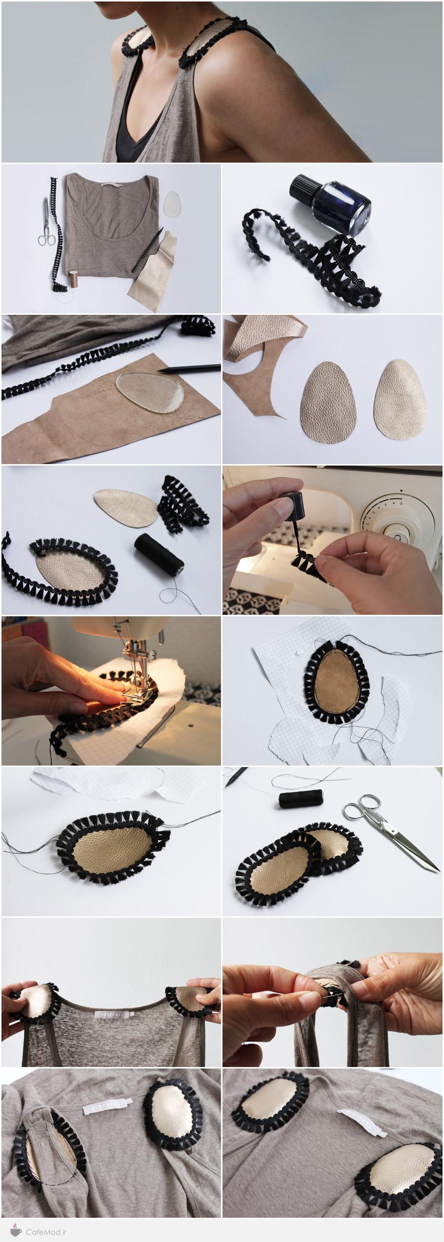 آموزش تزئین لباس