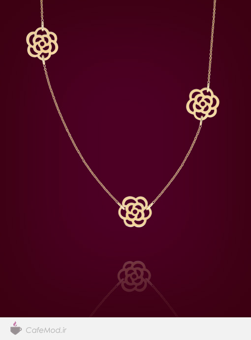 گردنبند جواهر Chanel