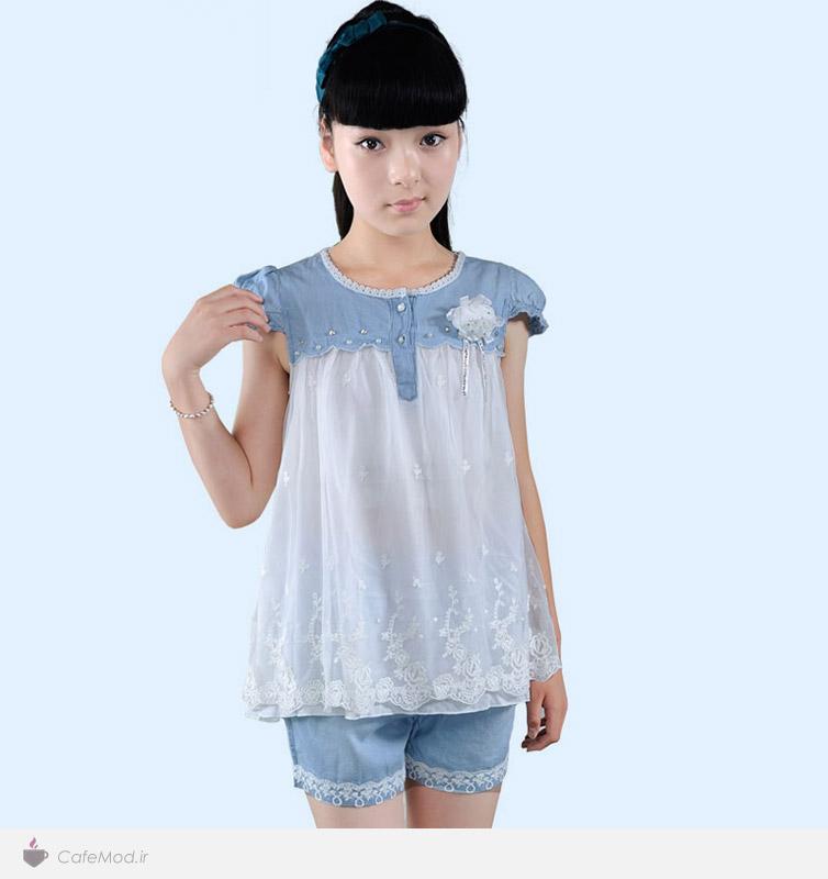 مدل لباس لی دخترانه