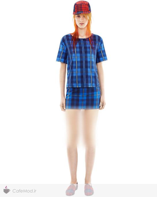 مدل لباس چهار خونه