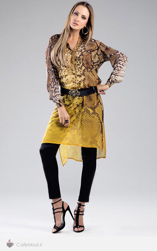 مدل لباس حریر زنانه