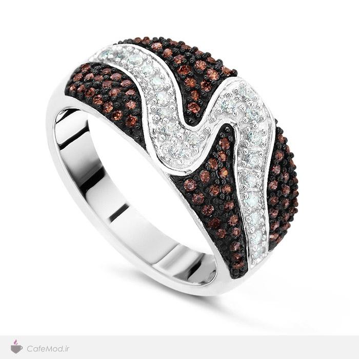 مدل انگشتر جواهر زنانه