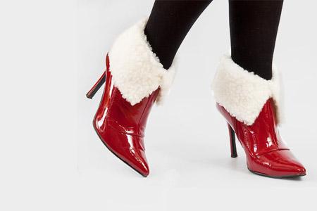 مدل کفش های خز دار زنانه 2