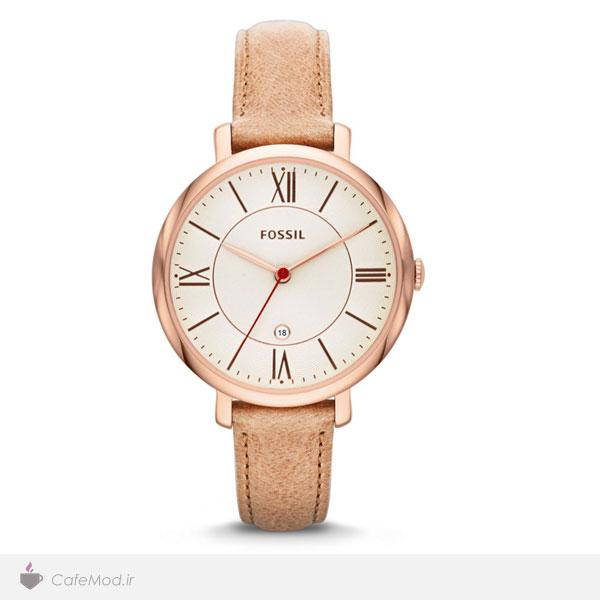 مدل ساعت چرمی ، مارک : Fossil