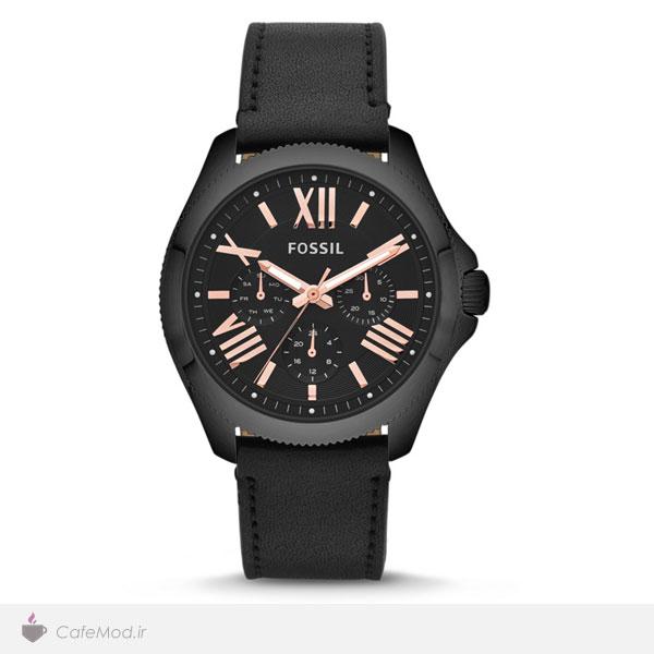 مدل ساعت مشکی ، مارک : Fossil