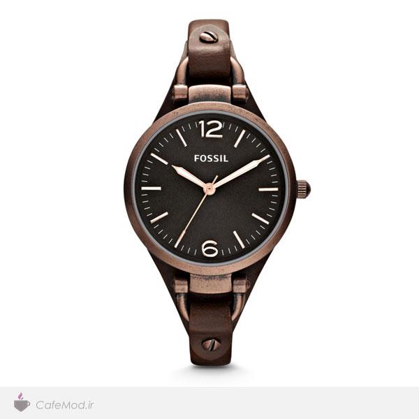 مدل ساعت بند چرم ، مارک : Fossil