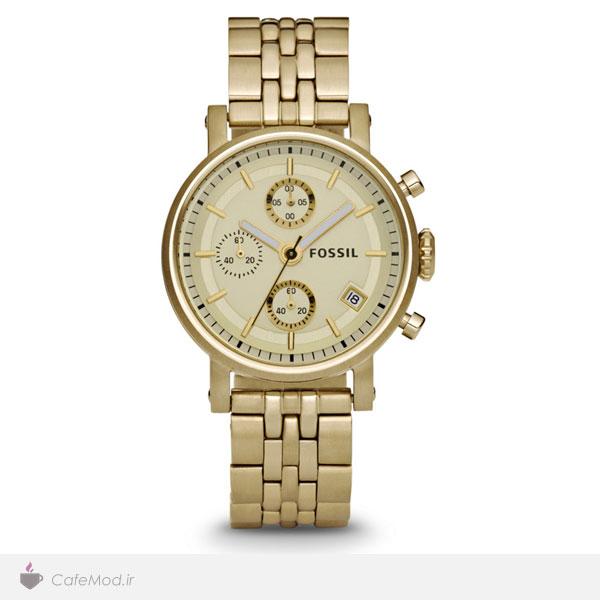 مدل ساعت طلایی ، مارک : Fossil