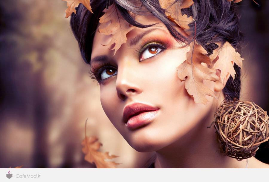 مدل آرایش پاییزی