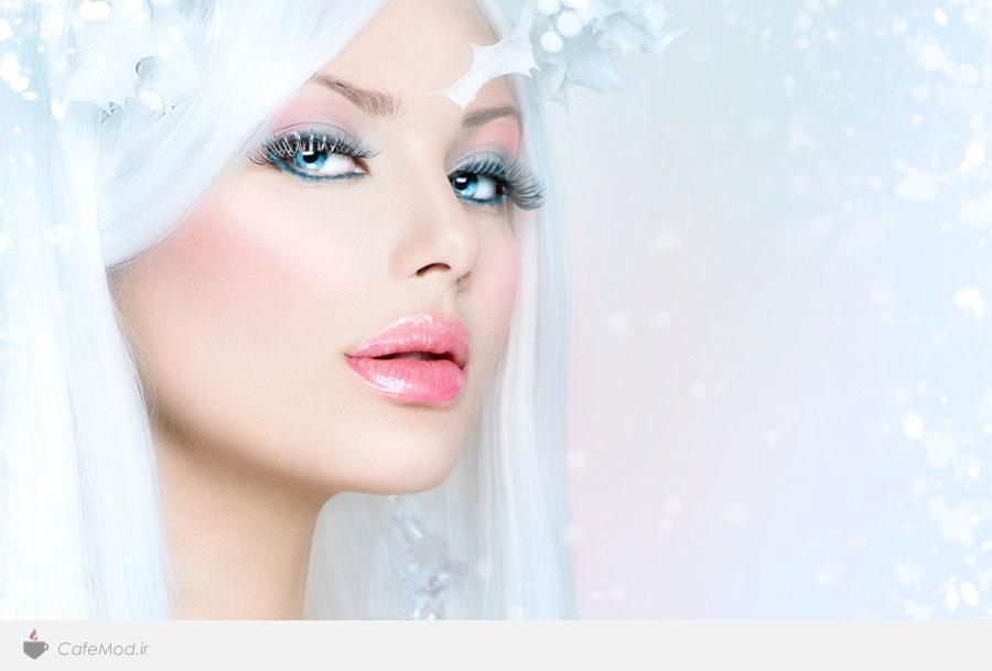 مدل آرایش برفی