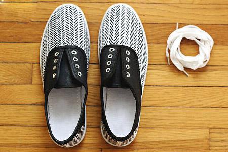 شخصی سازی کفش 1