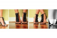 آموزش مدل دادن به کفش