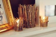 مدل جاشمعی چوبی