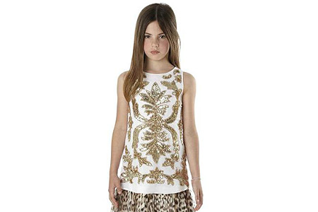 مدل لباس دخترانه Roberto Cavalli 1
