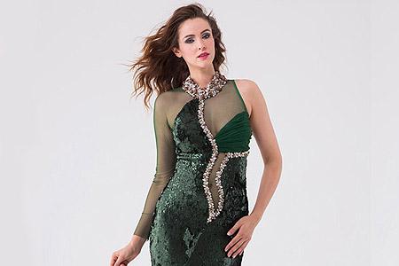 مدل لباس زنانه مجلسی Muzaffer 16