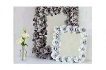 تزئین آینه و قاب