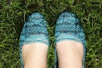 مدل کفش توری
