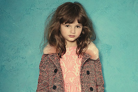 مدل لباس دخترانه Alice Temperley 1